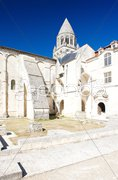 Aux Dame Abbey, Saintes, Poitou-Charentes, France Stock Photos