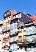 Quarter of Ribeira, Porto, Portugal Stock Photos