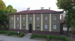 Defence Corps Building in Seinäjoki Stock Footage