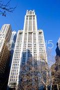 Woolworth building, Manhattan, New York City, USA Stock Photos
