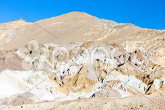 Artist's Palette in Artist's Drive, Death Valley National Park, California, USA Stock Photos