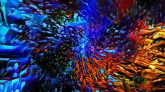 Looping cosmic vortex Stock Footage