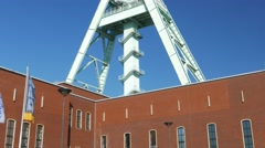 4K Bochum Deutsches Bergbau-Museum Route Industriekultur Industrial Heritage Stock Footage