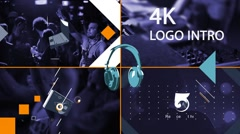Logo Intro Stock After Effects