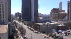 Establishing shot of downtown Birmingham, Alabama. Stock Footage