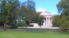 Stock footage Thomas Jefferson Memorial Stock Footage