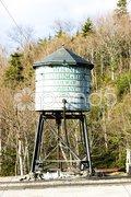 Water tank, Mount Washington Cog Railway, Bretton Woods, New Hampshire, USA Kuvituskuvat