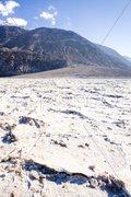 Badwater, Death Valley National Park, California, USA Stock Photos
