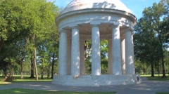 Video of the DC War Memorial Stock Footage
