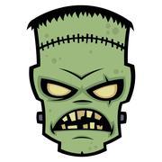 Frankenstein Monster Stock Illustration
