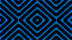 4K Stripes Vj Loops Blue OnBlack Background Stock Footage