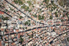 Aerial view on Zakynthos island Stock Photos