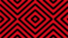 4K Vj Loop Black Stripes Motion On Red Background Stock Footage