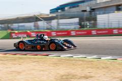 Vallelunga, Rome, Italy. September 4th 2016. Sport Prototype italian champion Stock Photos