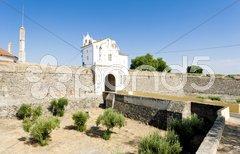 Gateway to Elvas, Alentejo, Portugal Stock Photos