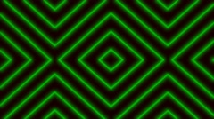 4K Vj Loops Green Club Stripes Visual Stock Footage