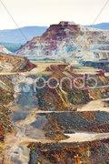Copper mine, Minas de Riotinto, Andalusia, Spain Stock Photos