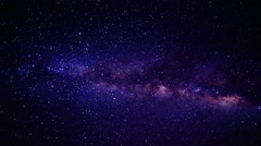 A View of Outer Space Flying Between the Stars Stock Footage