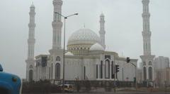 Khazret Sultan Mosque Stock Footage