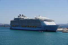 Cruise ship Harmony of the Seas Stock Photos