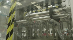 4K Product manufacturing on factory floor Stock Footage