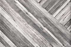 Pale plank wood texture background,Diagonal alignment wall Stock Photos