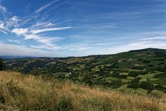 Landscape in Galicia Stock Photos