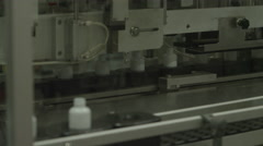 4K Product manufacturing on factory floor. Stock Footage