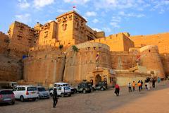 Jaisalmer fort in Rajasthan, India Stock Photos