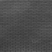 Black brick wall background Stock Photos