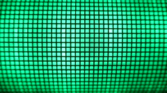 4K Grid Green Led Light Effects Stock Footage