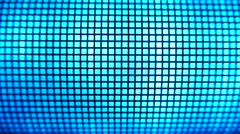 4K Grid Light Blue Led Light Effects Stock Footage