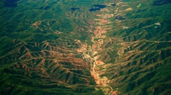 4K Aerial View of Oaxaca in Southern Mexico 8 Stock Footage