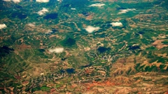 4K Aerial View of Oaxaca in Southern Mexico 10 Stock Footage