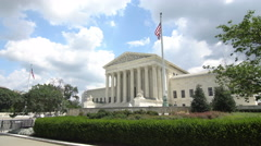The United States Supreme Court Stock Footage