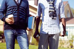 Male students Stock Photos