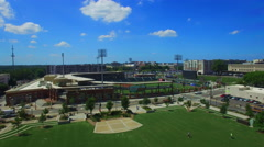 Charlotte Baseball Stadium Stock Footage