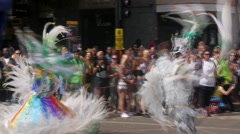 London, Notting Hill carnival Stock Footage