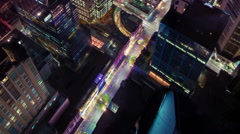 City Portrait in 3D Stock Footage