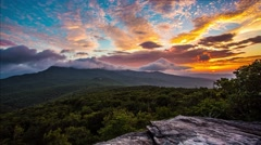 Appalachian Mountain Sunrise Stock Footage