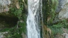 Waterfall  at Olympus mountain, Greece Stock Footage
