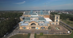 Alexandra Palace in London Stock Footage