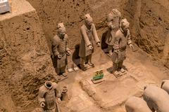 Xian China Terra Cotta Warriors Stock Photos