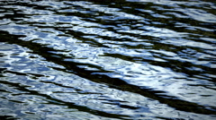Abstract water patterns, Glacier National Park, Montana Stock Footage