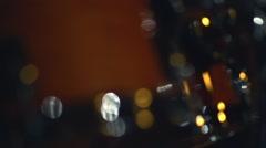 Drummer on rock concert, drums closeup. Stock Footage
