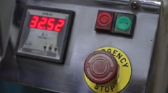 Energy stop power work machine Stock Footage