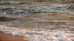 Sea at morning time Stock Footage