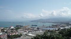 Port Cargo Samsun Turkey Stock Footage