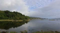 Coast near Salen, Isle of Mull, Scotland Stock Footage