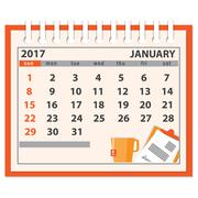 Page of january 2017 Stock Illustration